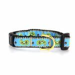 View Image 1 of Paisley Cat Collar by Up Country - Blue