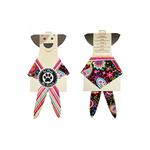 View Image 1 of Paisley Dog Bandana - Brown