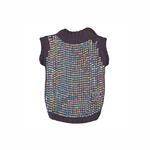 View Image 2 of Party Girl Sequined Dog Sweater