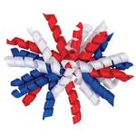 View Image 2 of Patriotic Curls Dog Bow