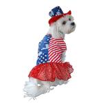 View Image 1 of Patriotic Dog Dress