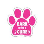 View Image 1 of Paw Magnet - Bark to Find a Cure