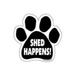 View Image 1 of Paw Magnet - Shed Happens