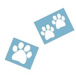 View Image 1 of Paw Shaped Car Window Decal