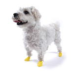 PawZ Disposable Dog Booties 12pk - XX-Small Yellow