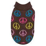 View Image 3 of Peace Sign Sweater