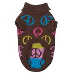 View Image 2 of Peace Sign Sweater
