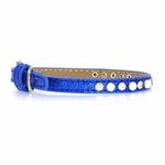 View Image 1 of Pearl and Jewel Ice Cream Collar - Blue
