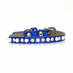 View Image 3 of Pearl and Jewel Ice Cream Collar - Blue