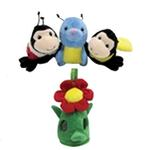 View Image 2 of Peek-A-Boo Flower Friends - 4 Pieces