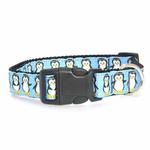 View Image 2 of Penguins Nylon Ribbon Dog Collar