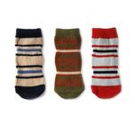 View Image 3 of Pepper's Pet Socks - 3pk