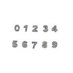 View Image 1 of Personalized Crystal Numbers - 0-9