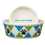 View Image 1 of Pet Studio Andover Dog Dishes - Bluebird