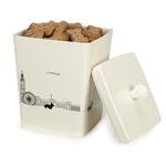 View Image 1 of Pet Studio City Dog Melamine Treat Canister - Day Break