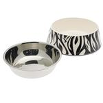 View Image 4 of Pet Studio Safari Melamine Pet Bowl