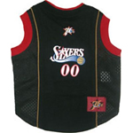 View Image 1 of Philadelphia 76ers Dog Jersey