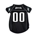 View Image 1 of Philadelphia Eagles Dog Jersey - Black