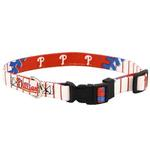 View Image 1 of Philadelphia Phillies Baseball Printed Dog Collar