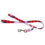 View Image 1 of Philadelphia Phillies Baseball Printed Dog Leash