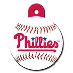 View Image 1 of Philadelphia Phillies Engravable Pet I.D. Tag