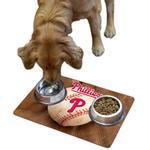 View Image 1 of Philadelphia Phillies Pet Bowl Mat