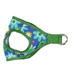 View Image 1 of Picnic Dog Harness by Gooby - Blue Flower