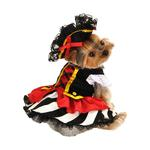 View Image 1 of Pirate Girl Halloween Dog Costume