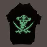 View Image 1 of Pirate Glow in the Dark Tee by Casual Canine