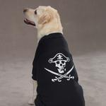 View Image 3 of Pirate Glow in the Dark Tee by Casual Canine