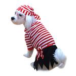 View Image 1 of Pirate Halloween Dog Costume