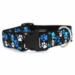 View Image 2 of Pitter Patter Wide Clip Adjustable Dog Collar - Chocolate
