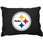 View Image 1 of Pittsburgh Steelers Dog Bed