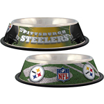 View Image 1 of Pittsburgh Steelers Dog Bowl