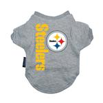 View Image 1 of Pittsburgh Steelers Dog T-Shirt
