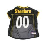 View Image 1 of Pittsburgh Steelers Officially Licensed Dog Jersey - Yellow Trim