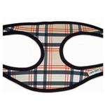 View Image 2 of Plaid Step-In Dog Harness - Tan