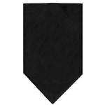 View Image 1 of Plain Dog Bandana - Black