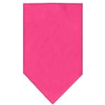 View Image 1 of Plain Dog Bandana - Bright Pink