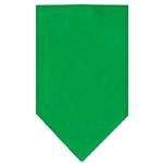 View Image 1 of Plain Dog Bandana - Emerald Green