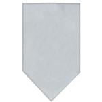 View Image 1 of Plain Dog Bandana - Gray