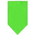 View Image 1 of Plain Dog Bandana - Lime Green