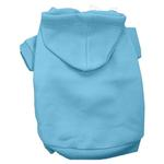 View Image 1 of Plain Dog Hoodie - Baby Blue