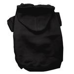 View Image 1 of Plain Dog Hoodie - Black