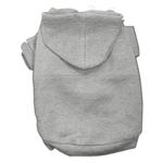 View Image 1 of Plain Dog Hoodie - Gray
