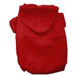 View Image 1 of Plain Dog Hoodie - Red