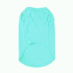 View Image 2 of Plain Dog Shirt - Aqua
