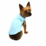View Image 1 of Plain Dog Shirt - Baby Blue