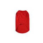 View Image 2 of Plain Dog Shirt - Red
