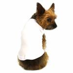 View Image 1 of Plain Dog Shirt - White